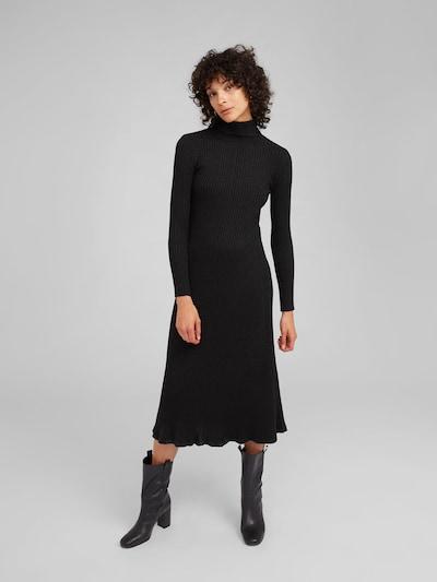 EDITED Kleid 'Syrina' in schwarz: Frontalansicht