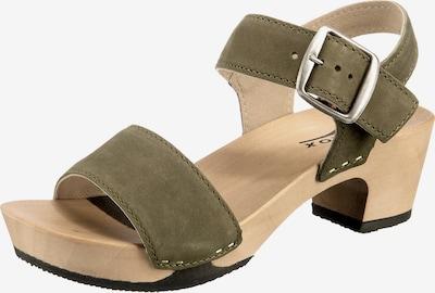 SOFTCLOX Sandale 'Kea' in oliv, Produktansicht