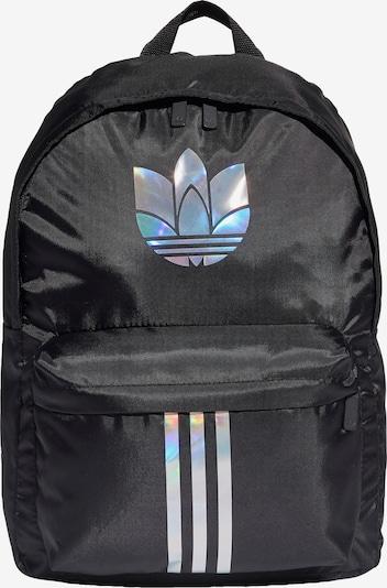 ADIDAS ORIGINALS Rucksack in schwarz / silber, Produktansicht