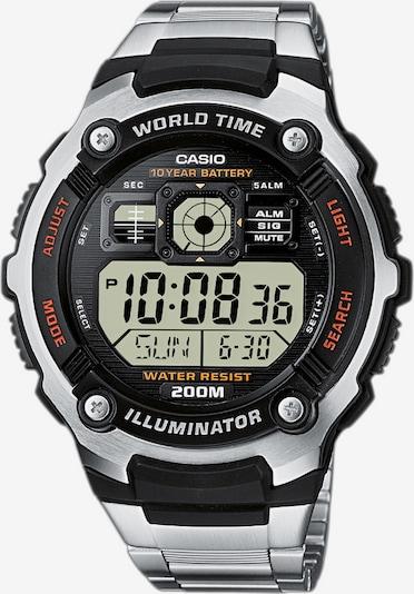 CASIO Chronograph in silber, Produktansicht