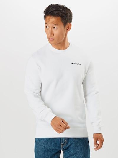 Champion Authentic Athletic Apparel Sweatshirt in weiß, Modelansicht