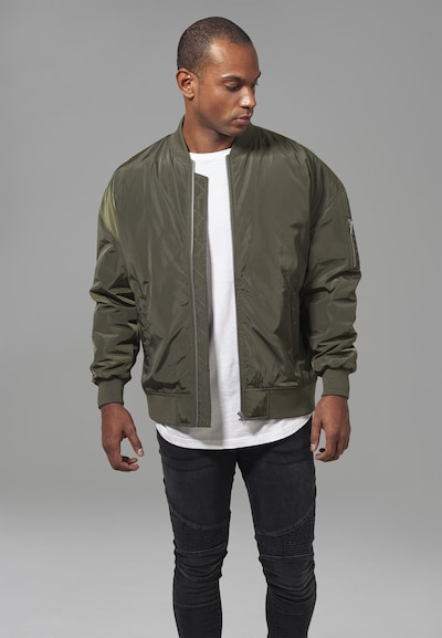 Urban Classics Jacket in oliv: Frontalansicht