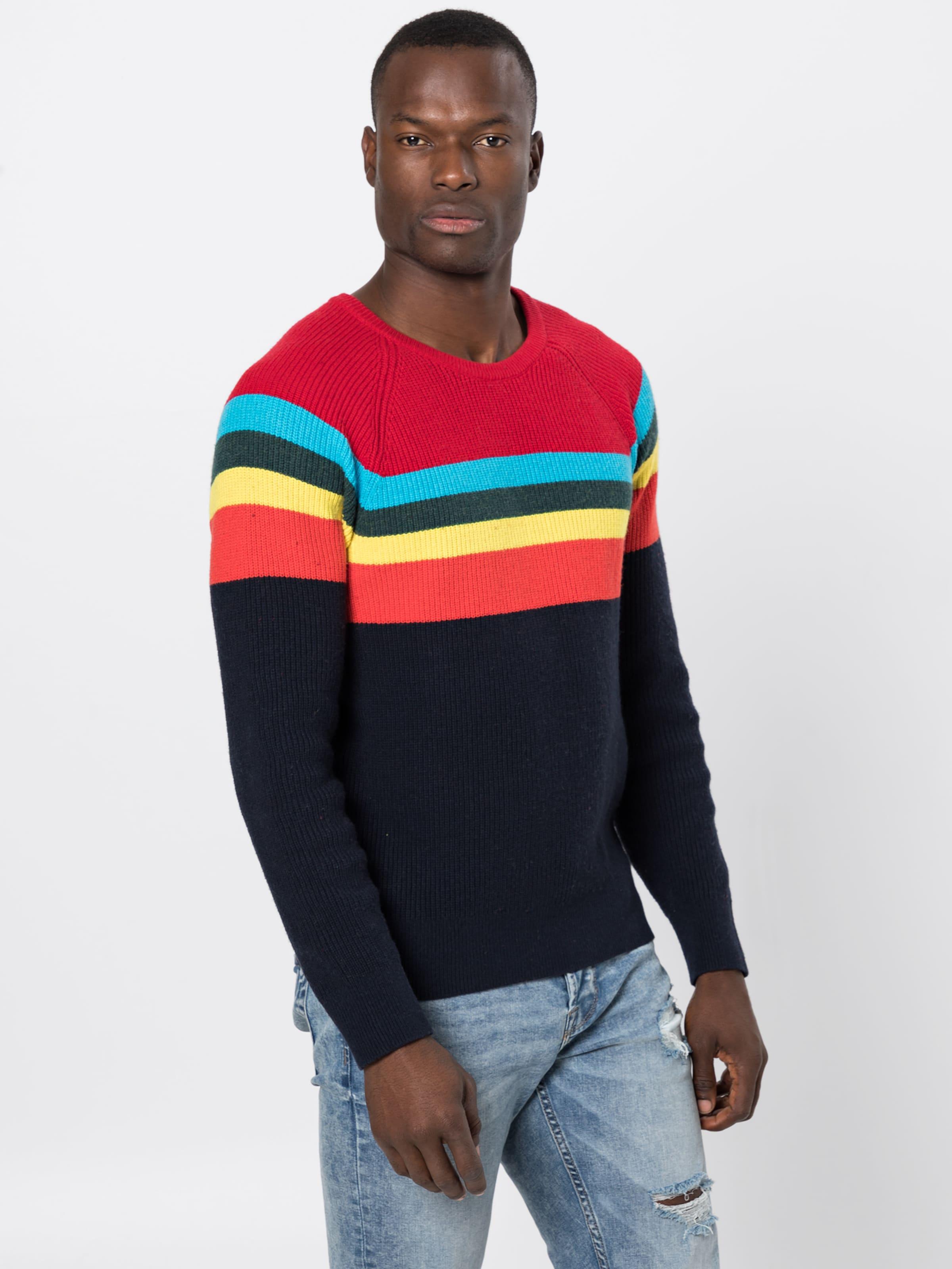 Gap In BlauGelb Rot Schwarz Pullover HEDI29