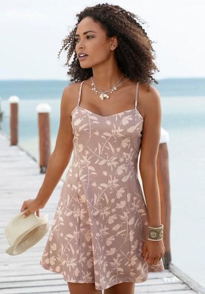 LASCANA Kleid in beige / taupe, Modelansicht