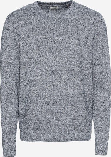 JACK & JONES Pull-over 'JJEBASIC KNIT V-NECK' en gris chiné, Vue avec produit