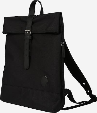 ENTER Plecak 'Fold Top ' w kolorze czarnym, Podgląd produktu