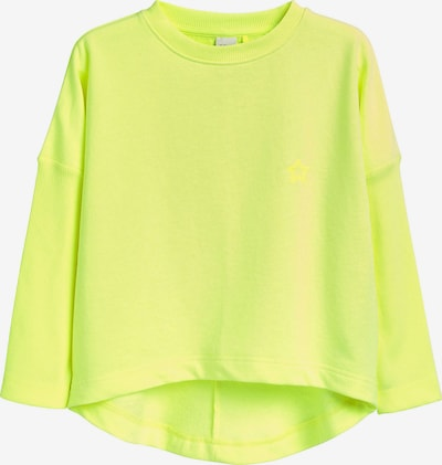 NEXT Sweatshirt in neongelb, Produktansicht