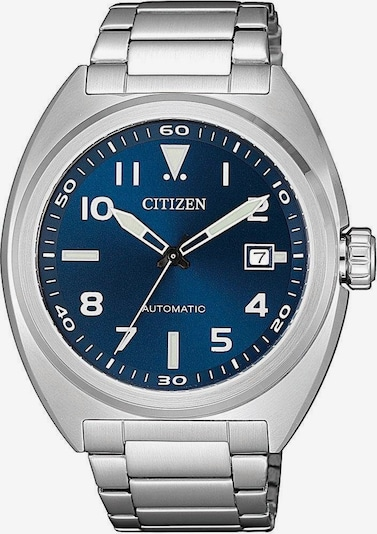 CITIZEN Uhr 'NJ0100-89L' in silber: Frontalansicht