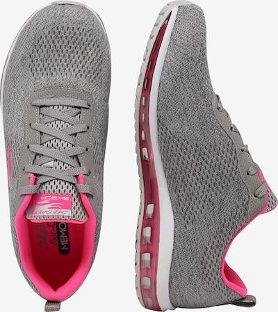 Sneaker low 'SKECH-AIR ELEMENT' SKECHERS pe gri / roz: Privire laterală