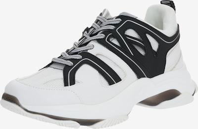 STEVE MADDEN Trampki niskie 'MAXXIM' w kolorze czarny / białym, Podgląd produktu