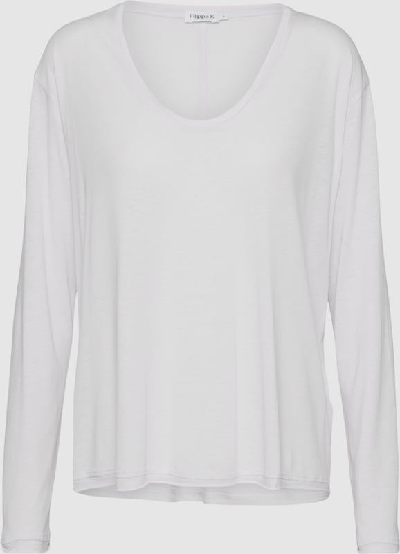 Filippa K Langarmshirt 'Scoop Neck Long Sleeve Top' in in in Rosa  Bequem und günstig 538b05