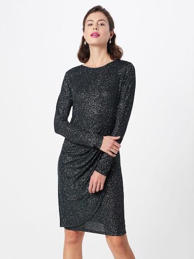 TOM TAILOR DENIM Kleid 'lurex jersey dress' in grün, Modelansicht