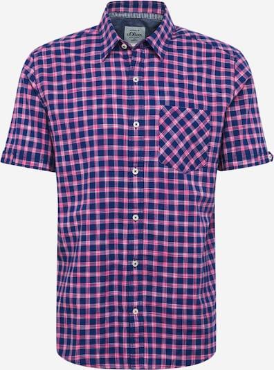s.Oliver Košile - modrá / pink, Produkt