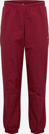 Pantaloni ADIDAS ORIGINALS pe roşu închis, Vizualizare produs