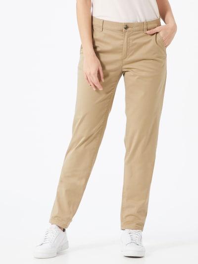 ESPRIT Chino kalhoty - béžová, Model/ka