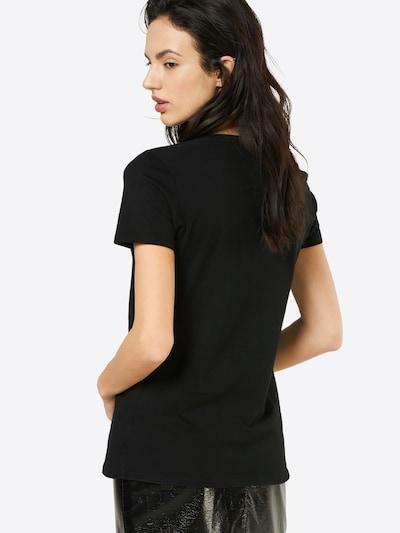 GAP T-Shirt 'VINT RIB' in schwarz: Rückansicht