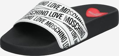 fekete / fehér Love Moschino Papucs 'JA2803', Termék nézet