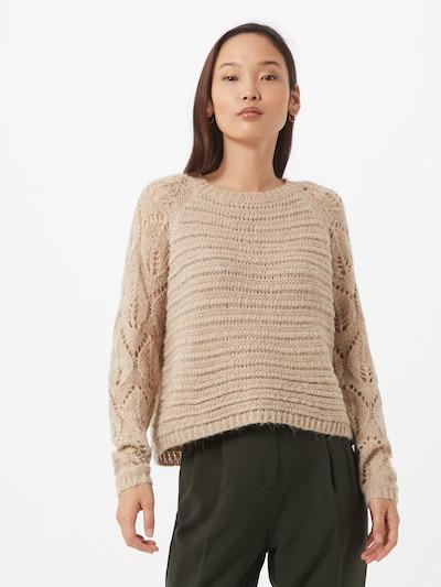 ONLY Pullover in beige, Modelansicht