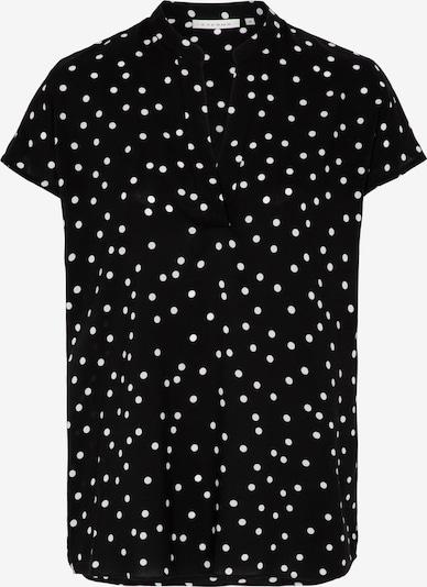 ETERNA Bluse in schwarz / weiß, Produktansicht