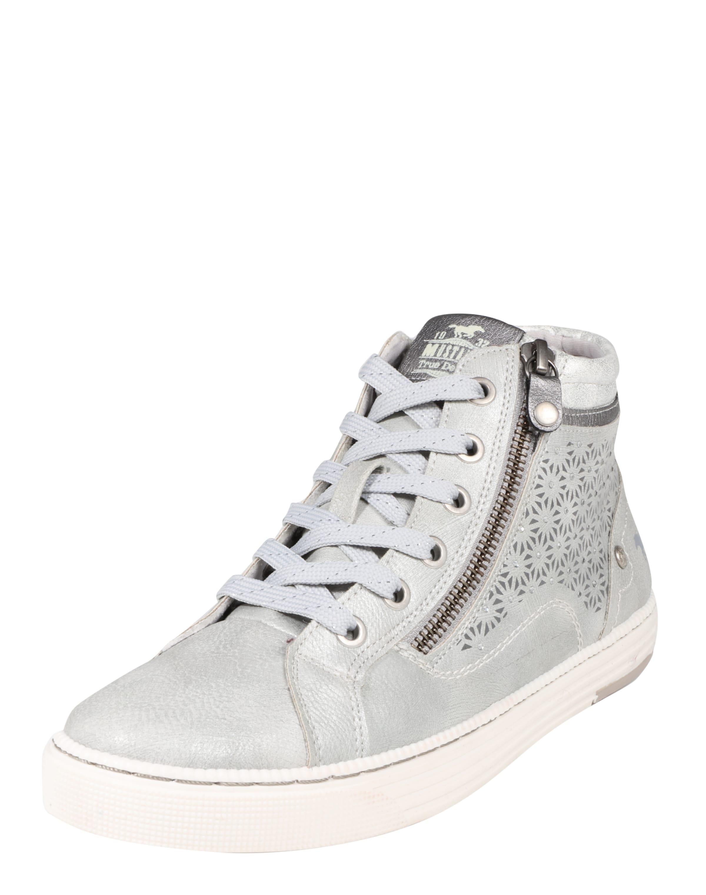 MUSTANG Sneaker mit Strass-Applikationen Verschleißfeste billige Schuhe