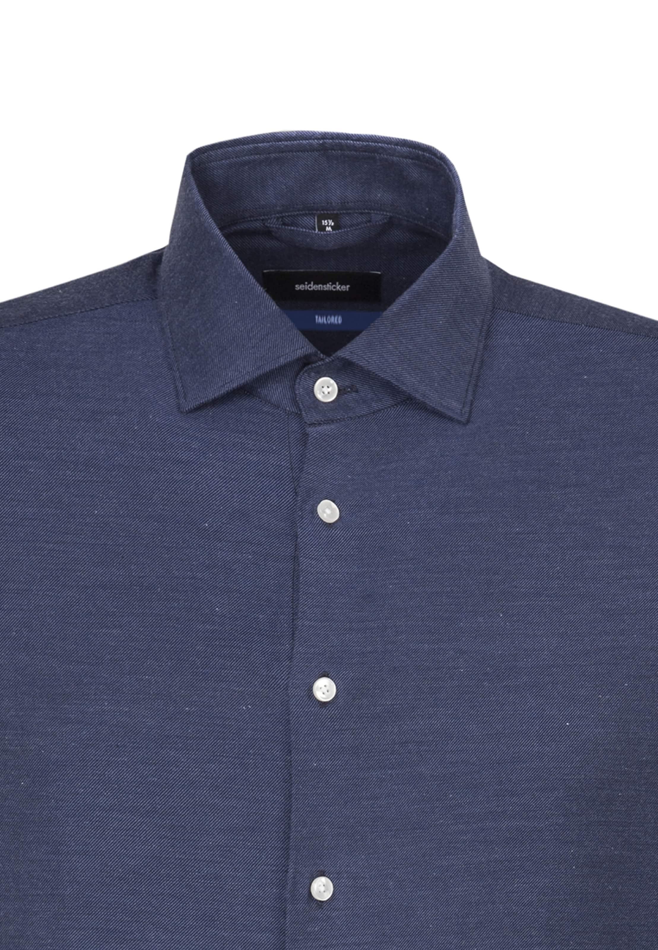 Hemd Blau 'tailored' Seidensticker In 'tailored' Hemd Seidensticker In Blau qMzSVLUpG