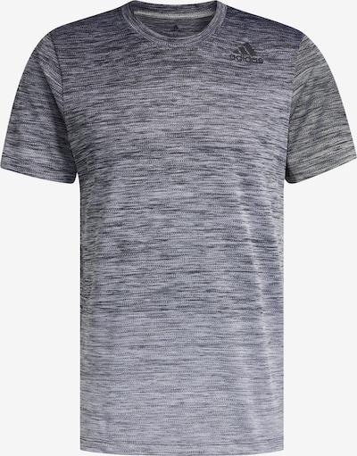 ADIDAS PERFORMANCE T-Shirt in graumeliert / schwarzmeliert, Produktansicht