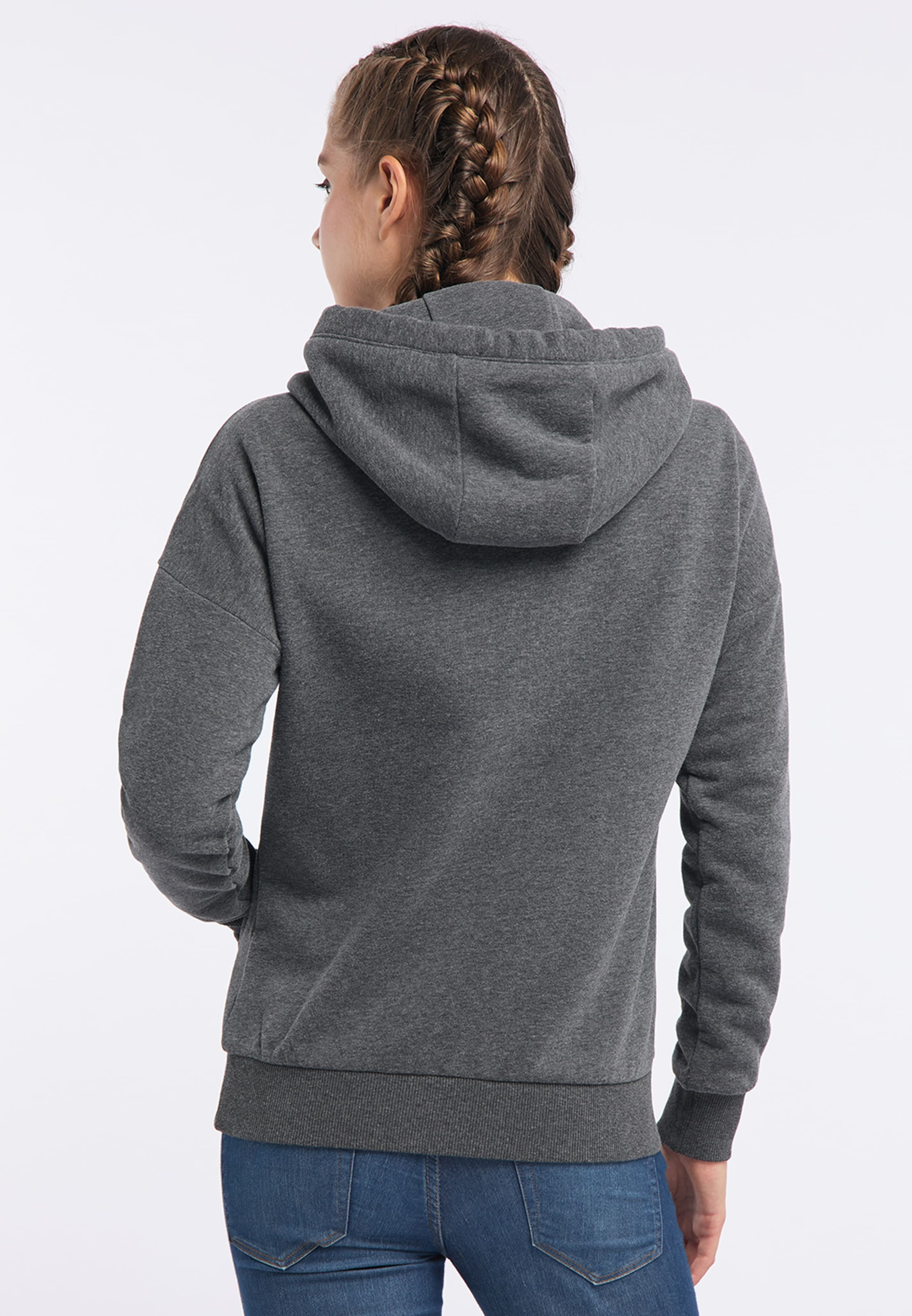 Mymo Sweat En ChinéRosé Gris shirt nv0Nm8w