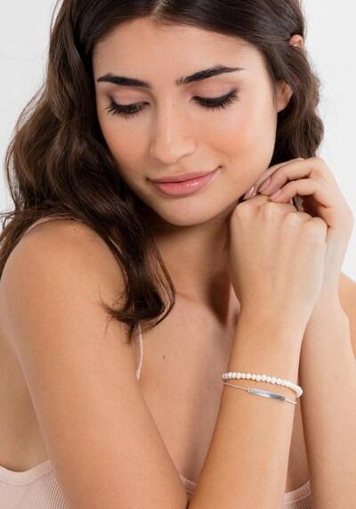 Thomas Sabo Armband in silber / perlweiß, Produktansicht