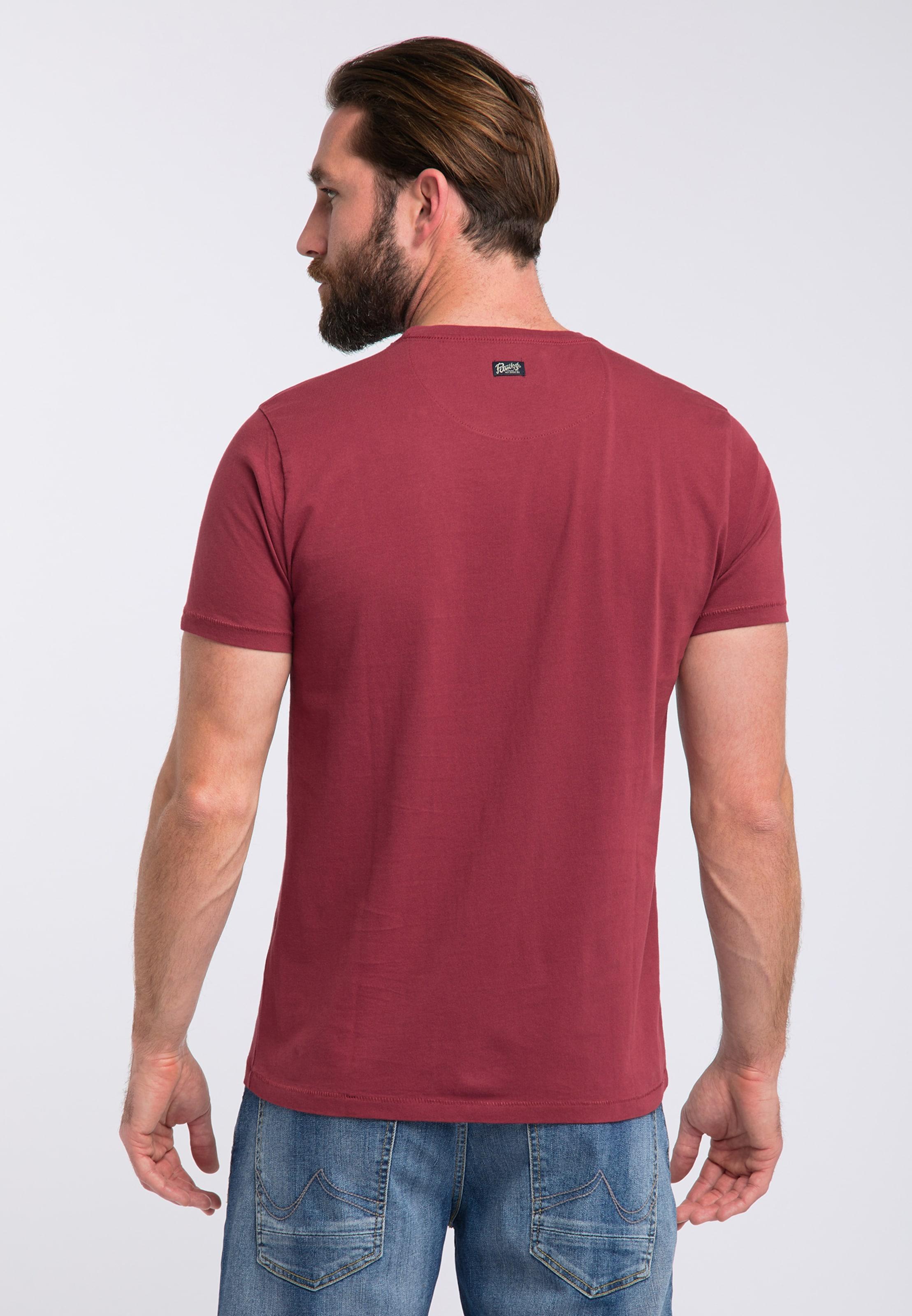 Industries En shirt Petrol T BleuRouge cqAL3Rj54