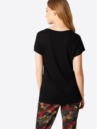 Kaffe T-Shirt 'Anna' in schwarz: Rückansicht