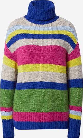Guido Maria Kretschmer Collection Pullover 'Sila' in blau / mischfarben / pink, Produktansicht