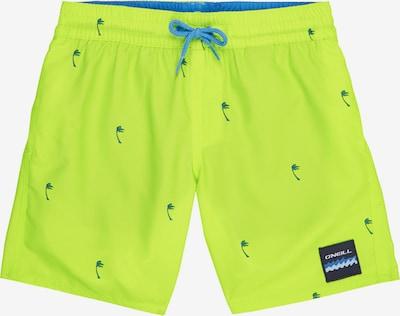 O'NEILL Kupaće hlače 'PB MINI PALMS SHORTS' u neonsko žuta, Pregled proizvoda