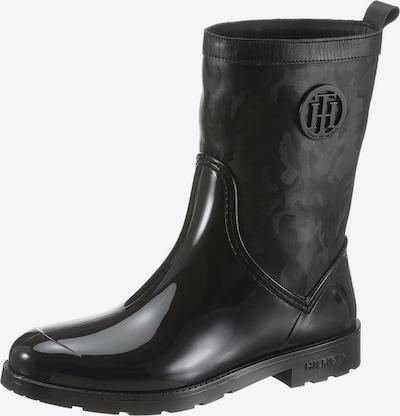 TOMMY HILFIGER Regenlaarzen 'Oxford' in de kleur Zwart, Productweergave