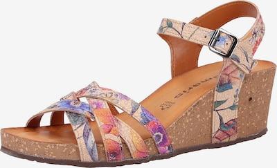 TAMARIS Sandalen in beige / mischfarben, Produktansicht