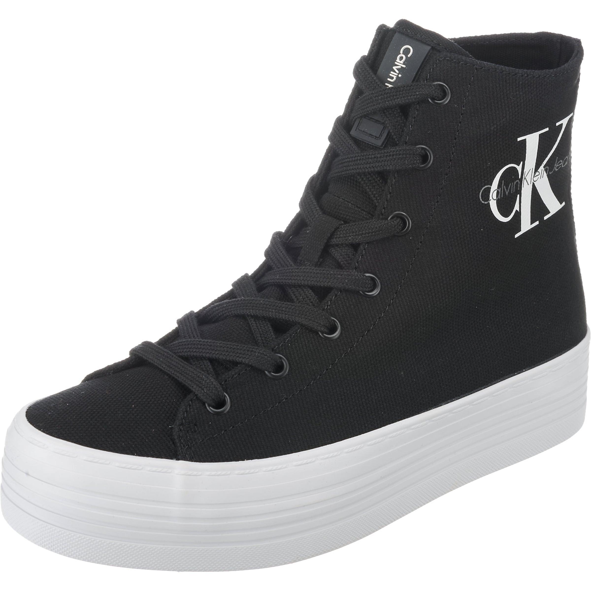Auslass Visa Zahlung Calvin Klein Jeans ZABRINA CANVAS Sneakers High Billig Kaufen Shop DZZ9h