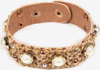 J. Jayz Armband in apricot / perlweiß, Produktansicht