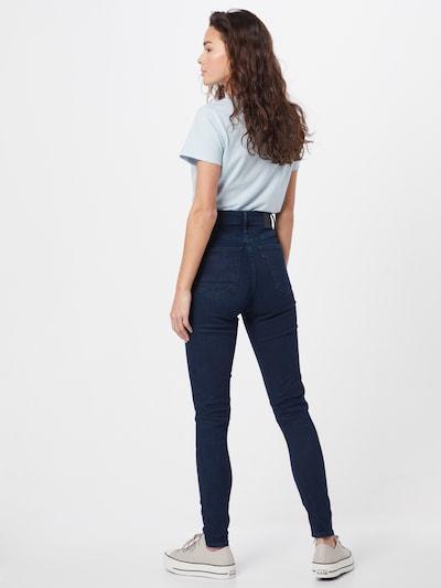 LEVI'S Jeans 'MILE HIGH' in blue denim: Rückansicht