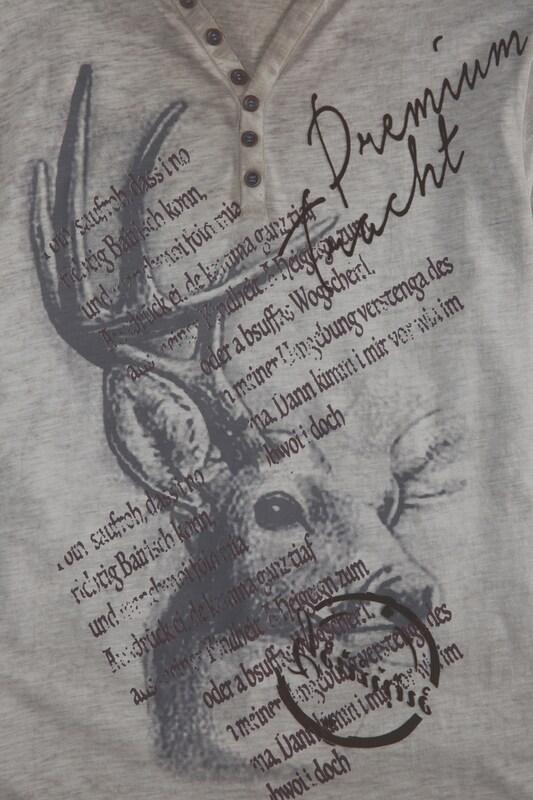 MARJO Trachtenshirt mit Printdetails