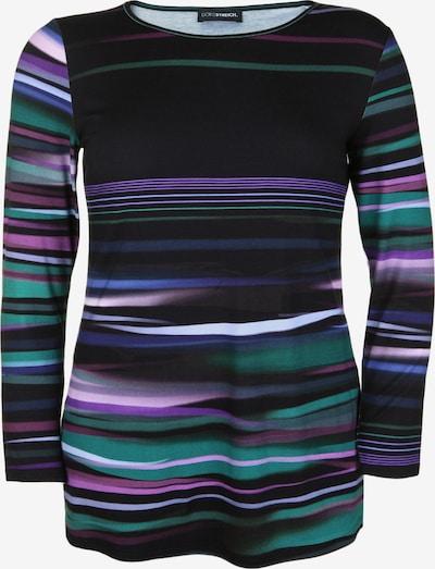 Doris Streich Tunika mit Streifenmuster in mischfarben / schwarz, Produktansicht
