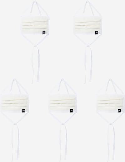 Grubenhelden Stoffmasken '5er Pack' in weiß, Produktansicht