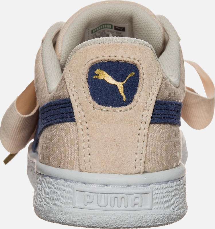 PUMA 'Basket Heart Denim' Sneaker