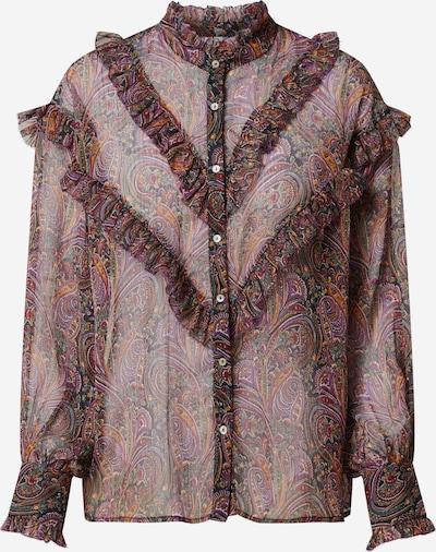 Pepe Jeans Blouse 'Regina' in de kleur Bruin / Gemengde kleuren, Productweergave