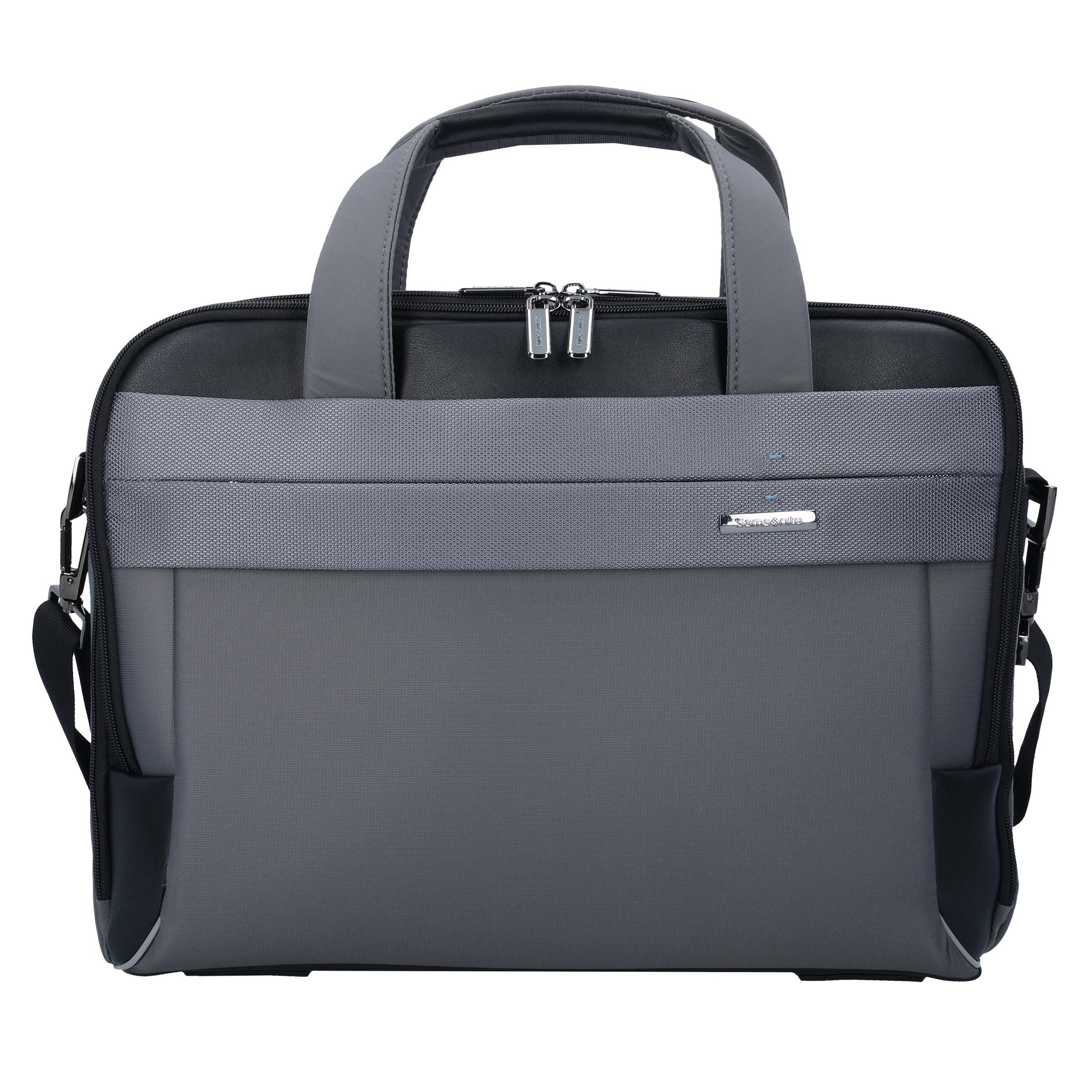 In Spectrolite Samsonite Businesstasche Cm 42 0 Laptopfach 2 GrauSchwarz XiuwZTkOP