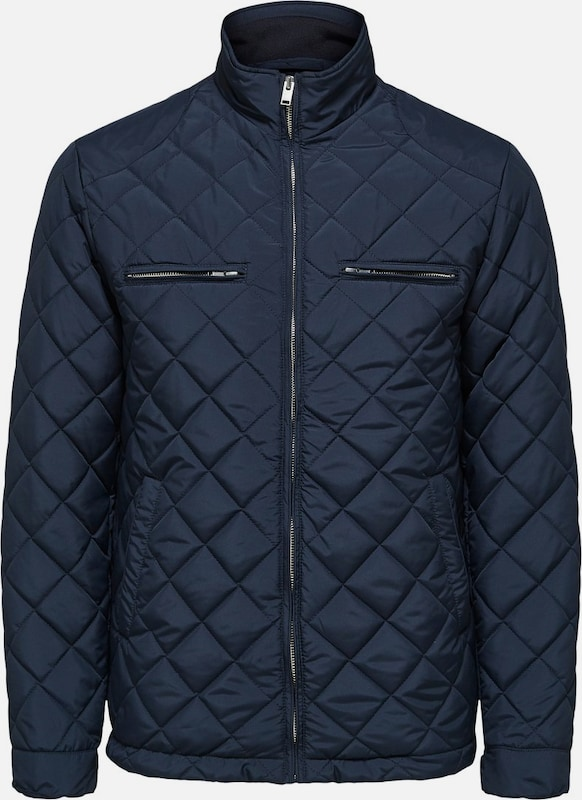 SELECTED HOMME Jacke in blau, Produktansicht