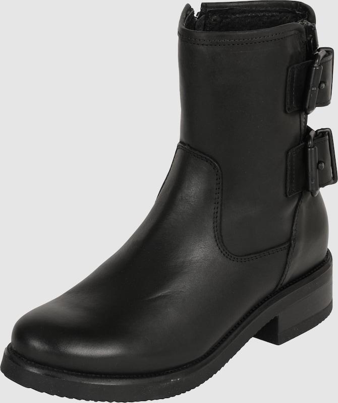 ps poelman biker boots mit schnallen in schwarz about you. Black Bedroom Furniture Sets. Home Design Ideas