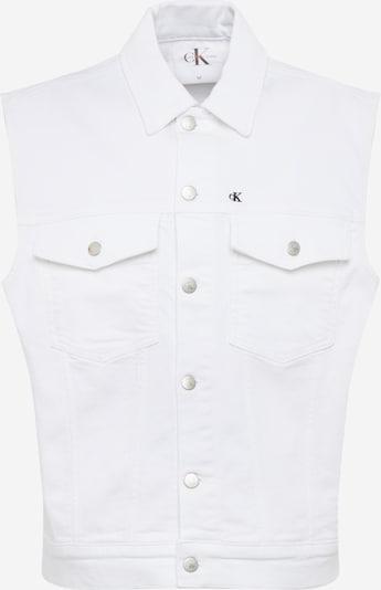 Calvin Klein Jeans Weste in mischfarben / white denim, Produktansicht