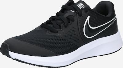 NIKE Schuhe 'Star Runner 2' in schwarz / weiß, Produktansicht