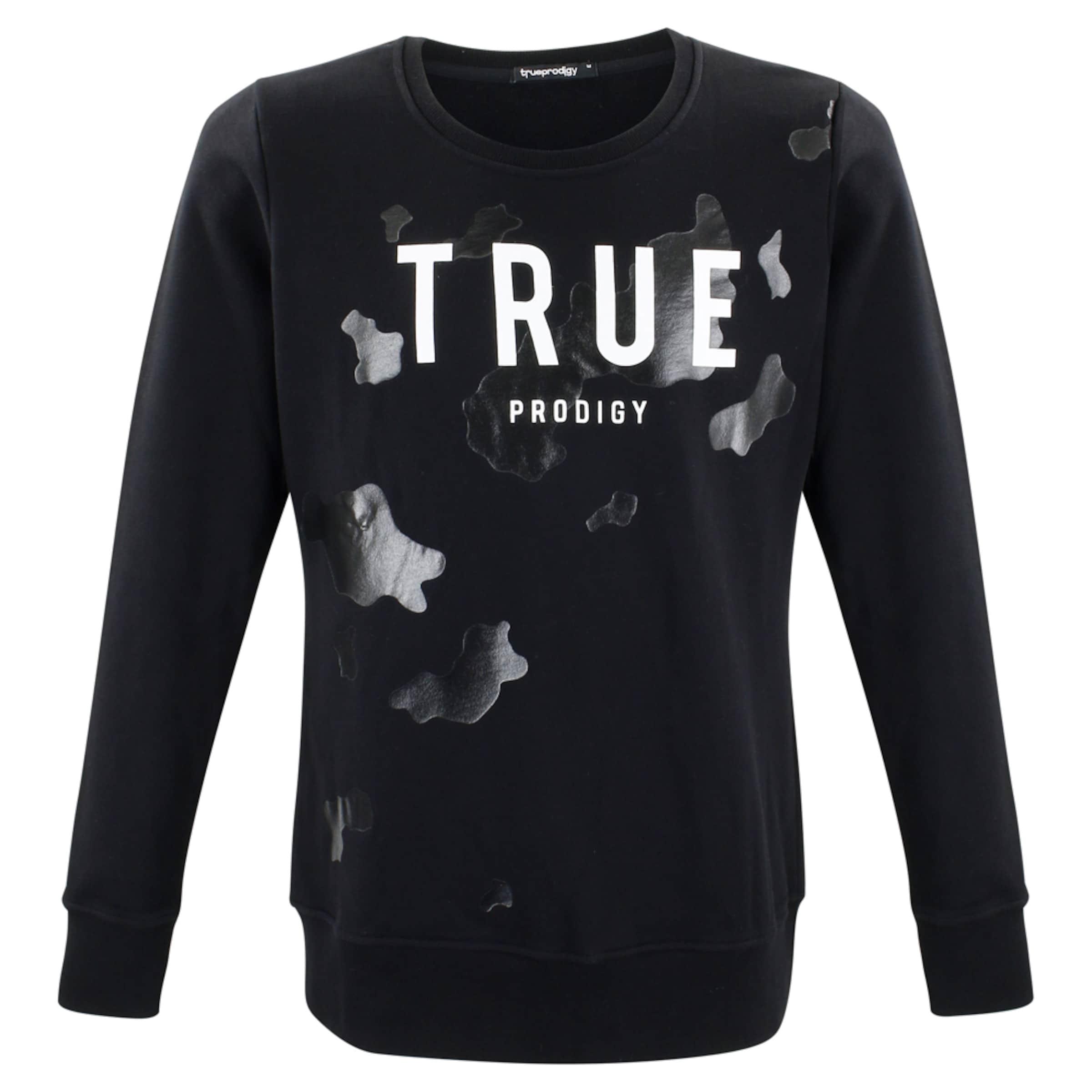 'flash' 'flash' Trueprodigy In SchwarzWeiß In Sweatshirt Sweatshirt SchwarzWeiß Sweatshirt Trueprodigy 'flash' Trueprodigy xordCBeQW