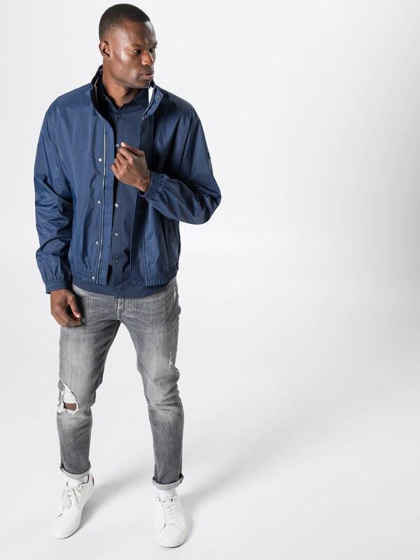 'tjm Veste Foncé saison Jeans Mi Bleu Jacket' Tommy En Mesh Trainer hCsQxrdt
