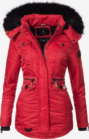 NAVAHOO Mantel 'Schätzchen' in rot, Produktansicht